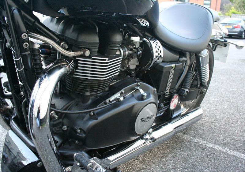 Triumph Speedmaster 865cc 61 Reg Only 4180 Miles Bobber Style