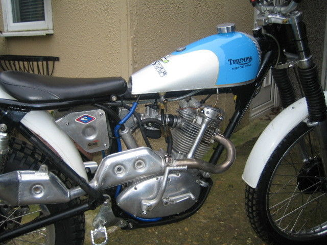 Triumph Tiger Cub 270cc 1963 Trials Motorcycle