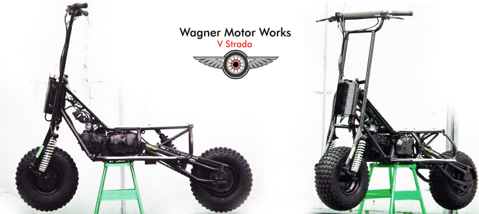 Two Wagner Motor Works V Strada 150 R Off Road Scooters Free Shipping