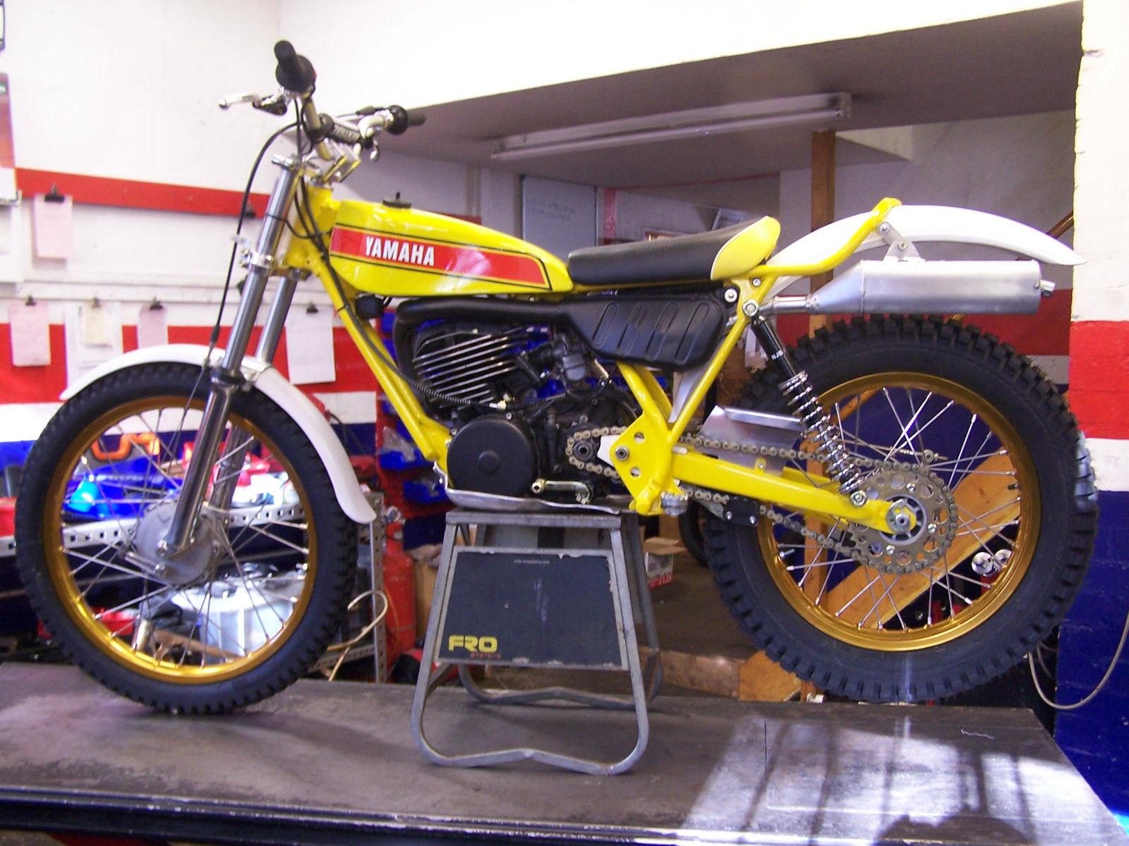Ty yamaha 250 majesty trials 2014 for Yamaha trials bike