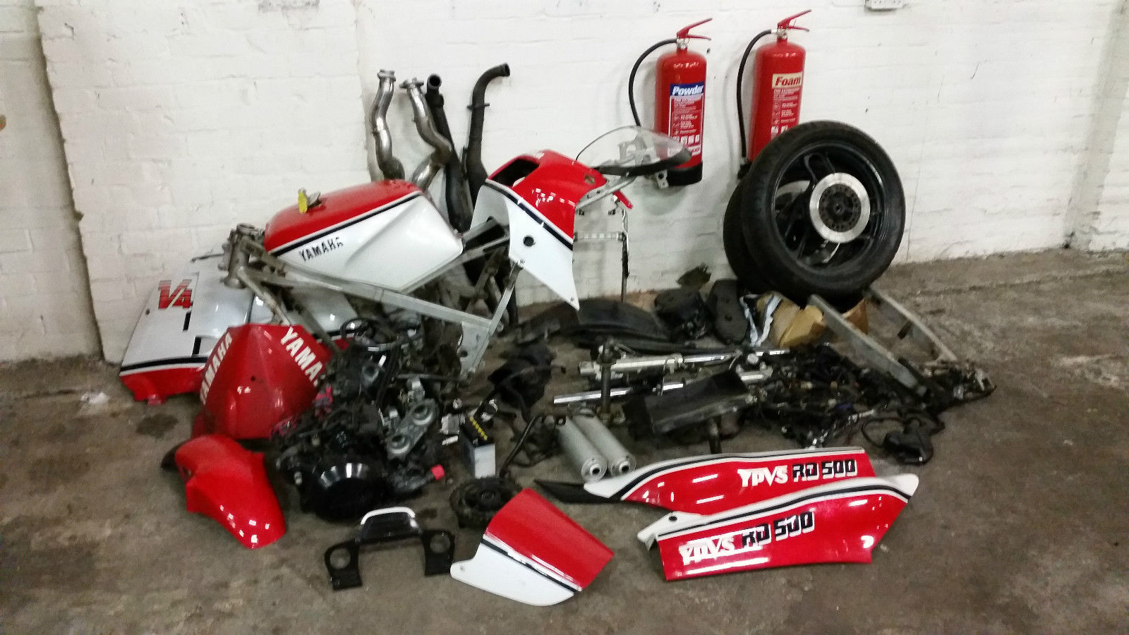UK Yamaha RD500 Classic 2 Stroke Project Spares Repair not