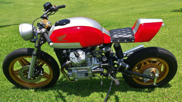 """Unique CX500 vintage street fighter. NOT a """"cookie cutter"""" Cafe Racer. SEE PICS"""