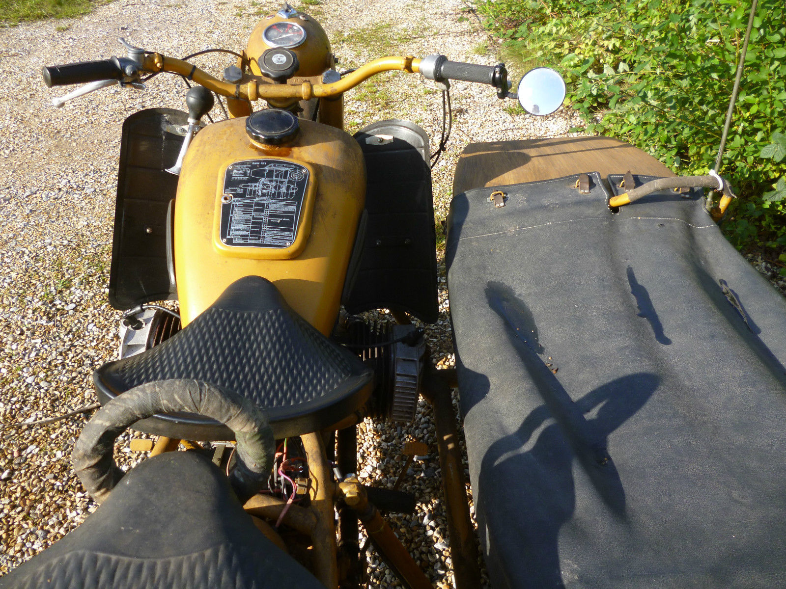 Ural K750 Sidecar Outfit 1962 Tax Exempt New Mot Not Cossackbmw Wiring Diagram Dnepr