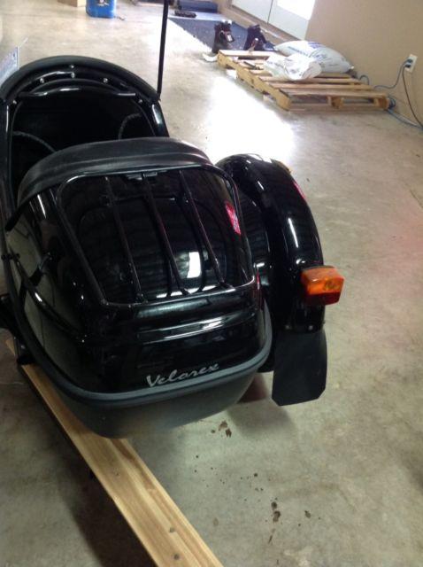 Velorex Motorcycle Sidecar Side Car Black - 2014