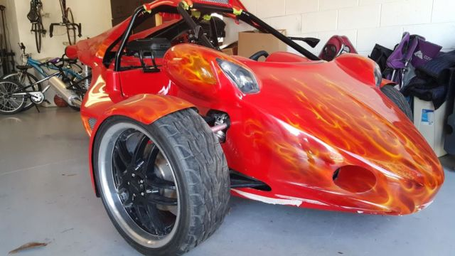 Veloss T-Rex Campangna Style Reverse Trike, 2012 with ...