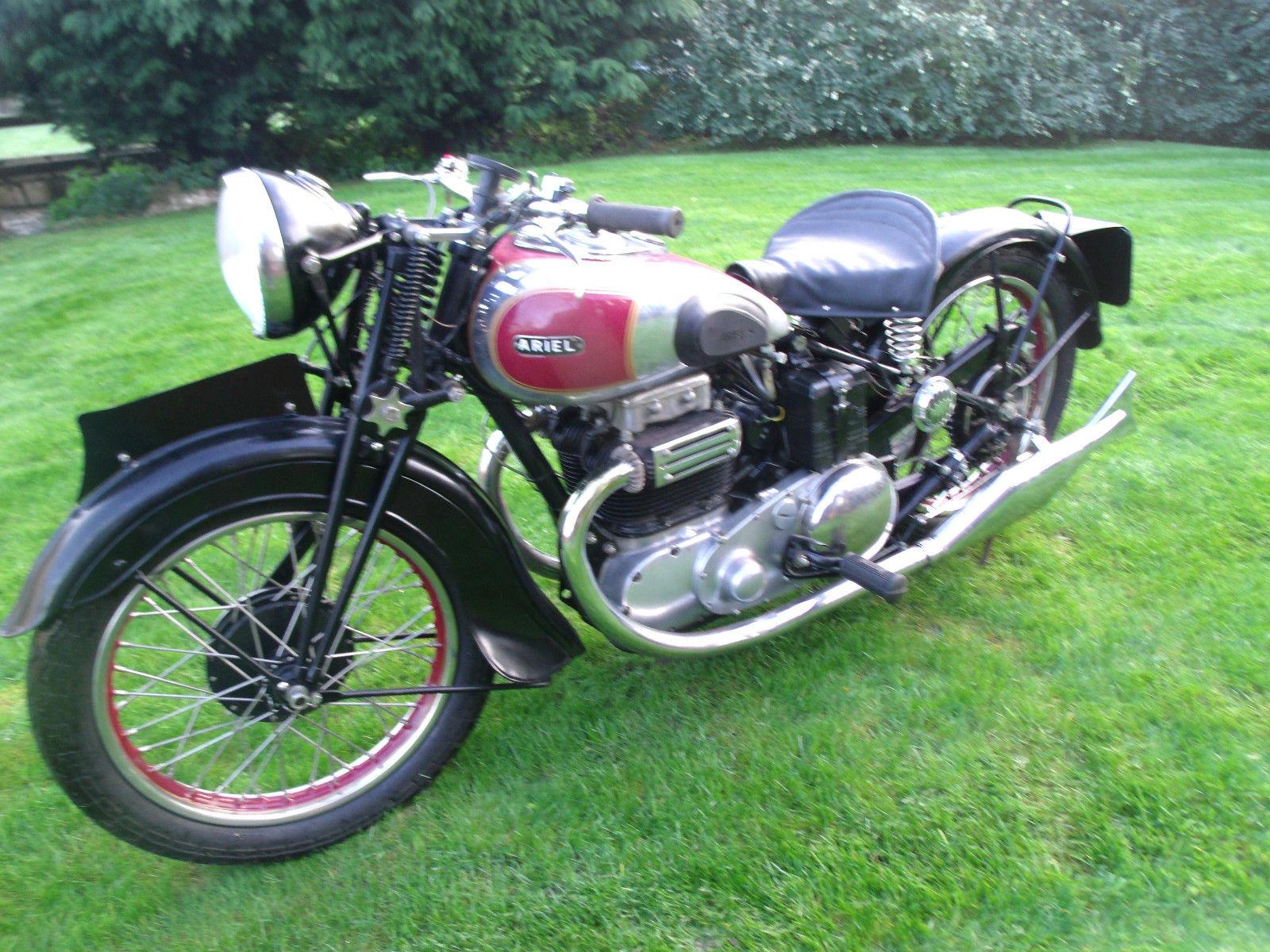Vintage 1938 Ariel Square 4. 1000cc. VGC Good Runner
