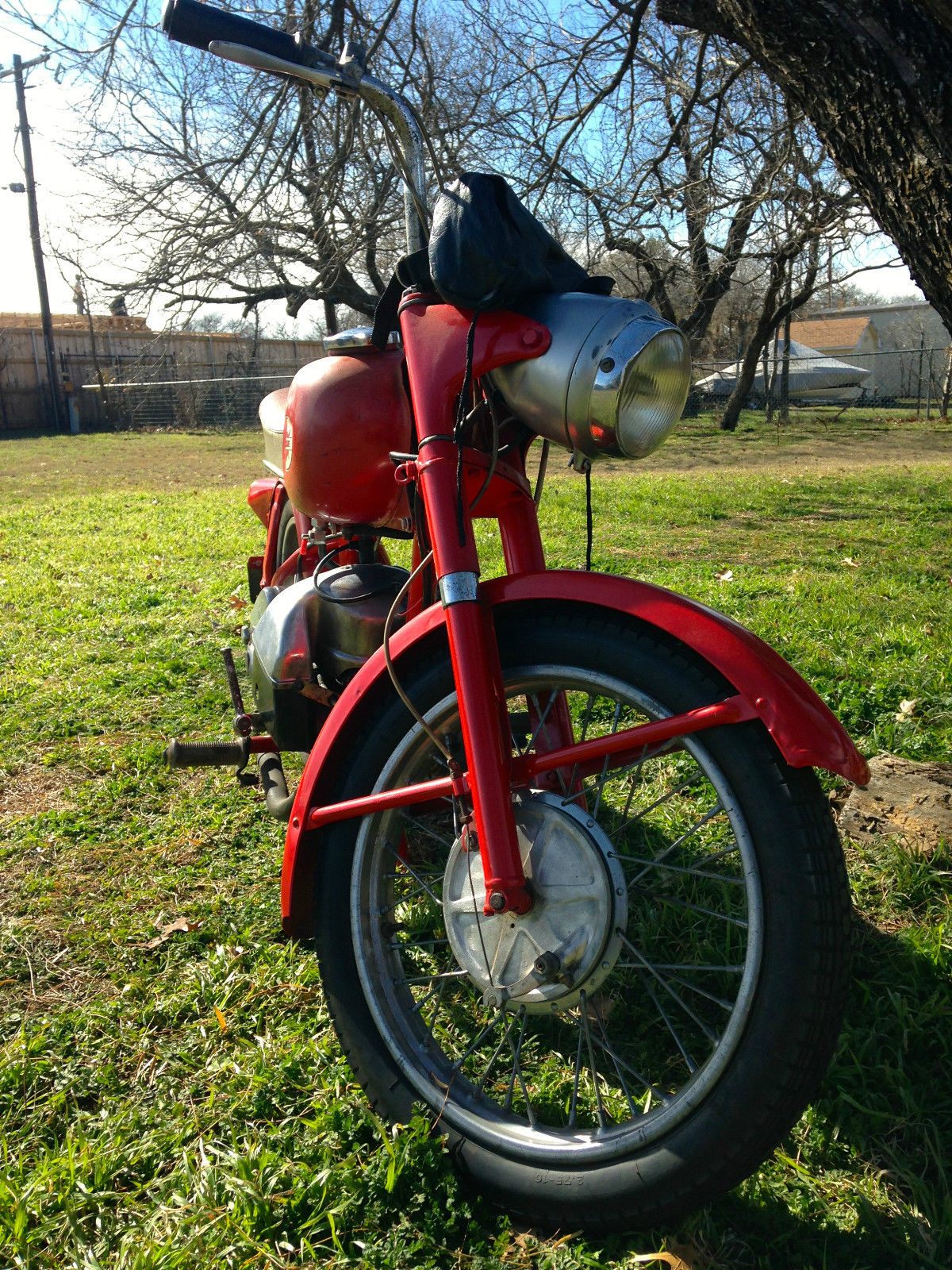 Vintage Allstate Puch Great Barn Find Rocket Scooter Very Rare on Scooter Wiring
