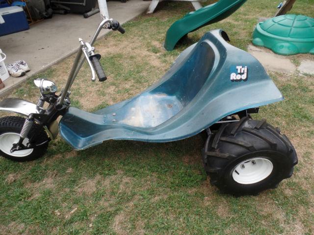 Vintage 1970 S Tri Rod Trike 3 Wheeler Trike Not Rupp
