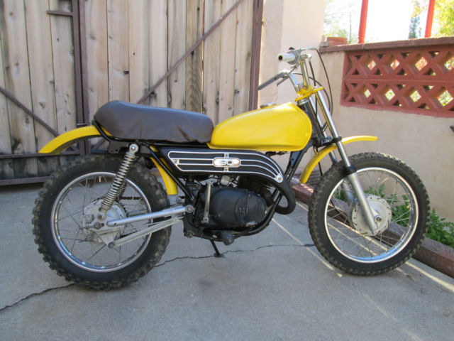 Vintage 1979 yamaha gt80mx gt80 mx running two stroke for Yamaha mx 80 for sale