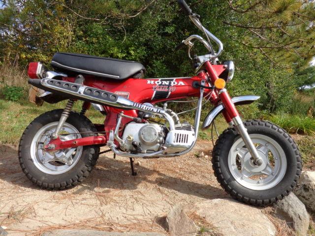 vintage classic motorcycle  trail  honda cth dual sport dirt bike wi