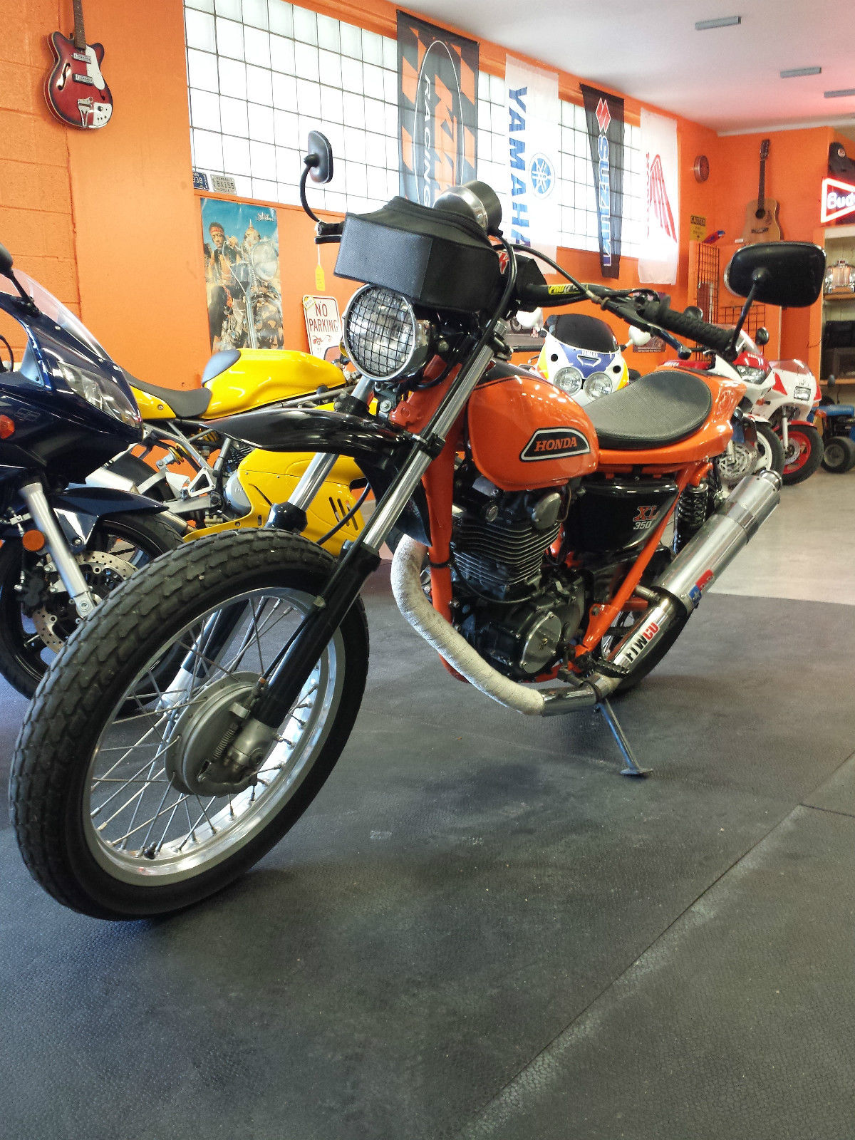 Honda Xl350 Tracker Images Of Home Design Wiring Diagram Vintage Restored 1974 Street Flat With Title