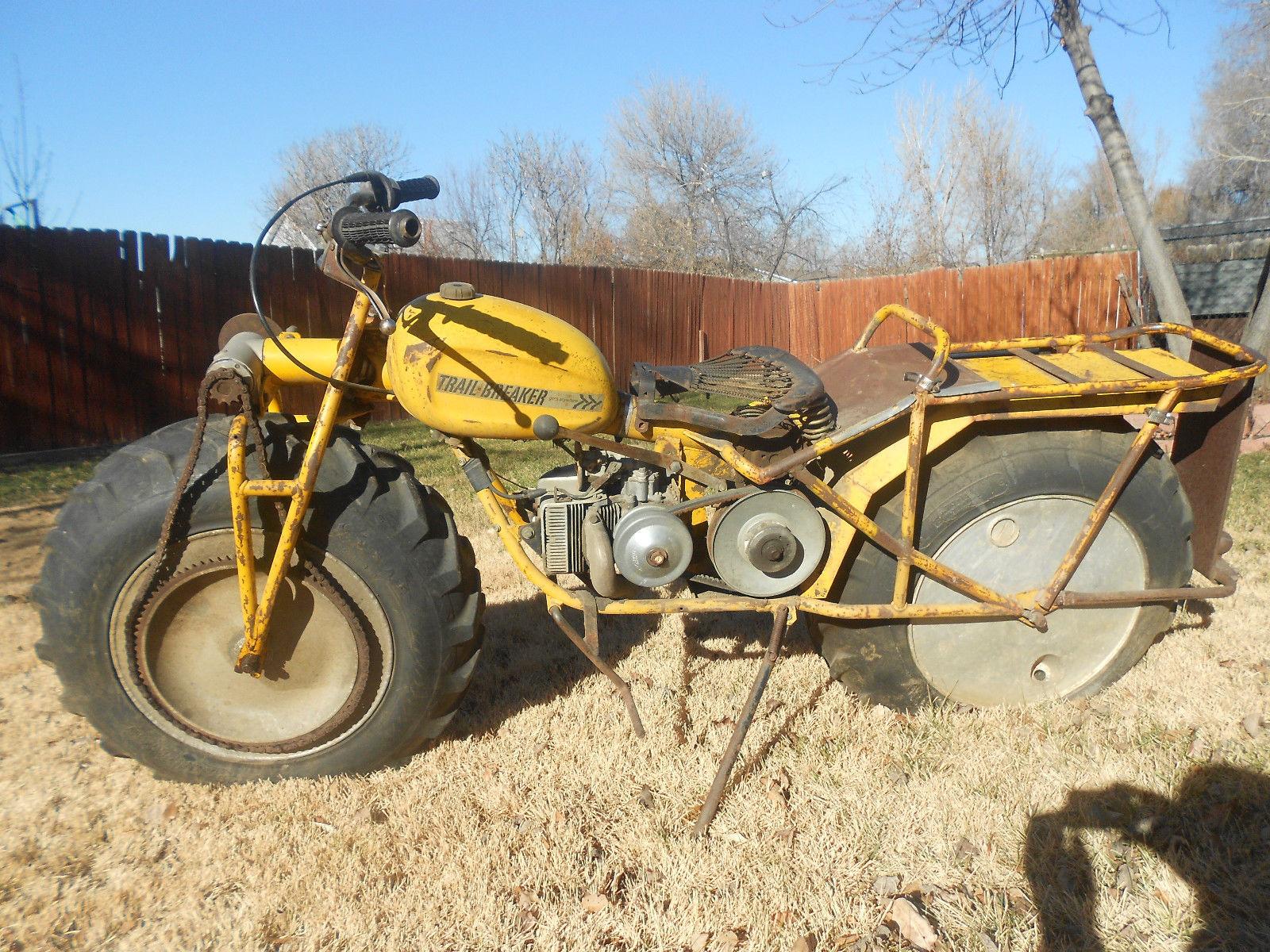 Vtg 1967 Rokon Trail Breaker 2wd Dirt Bike Motorcycle Rare