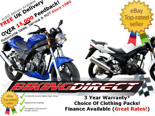 Wk 125 R Street Motorcycle 125cc Motorbike Finance Available