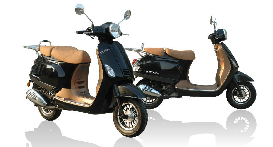 wk bikes vs 125 scooter 2014 brand new retro 125cc only 1199 otr. Black Bedroom Furniture Sets. Home Design Ideas