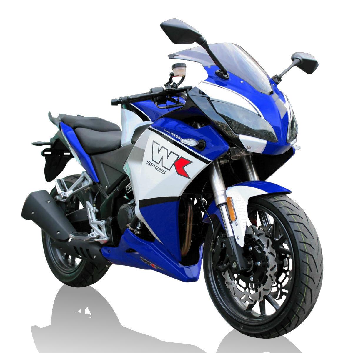 wk sp125 125cc super sport motorcycle 2498 otr liquid cooled finance me. Black Bedroom Furniture Sets. Home Design Ideas