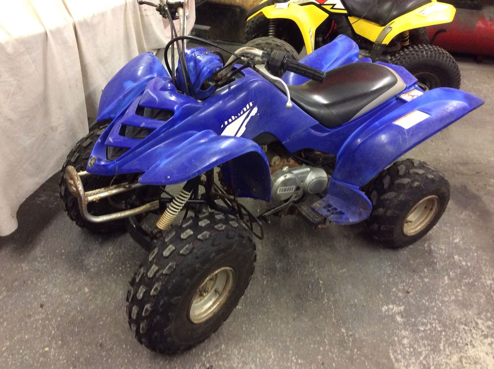 Yamaha Kids Atv >> yamaha 80cc quad,childrens quad,yamaha yfm mini raptor ...