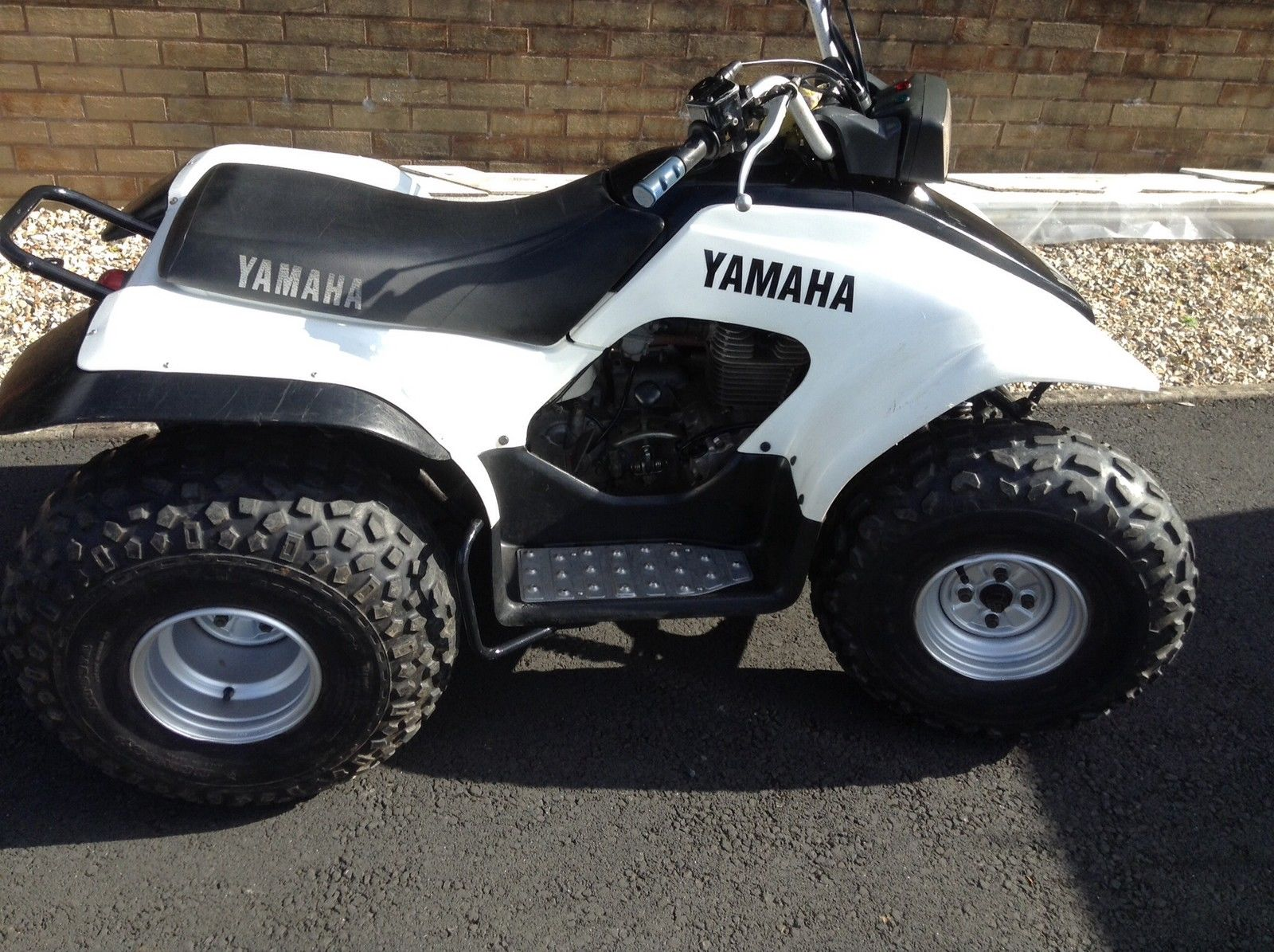 yamaha breeze 125cc quad bike electric start automatic. Black Bedroom Furniture Sets. Home Design Ideas