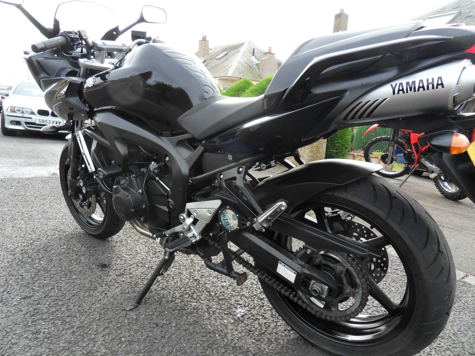 yamaha fz6 fazer 2008 immaculate condition full. Black Bedroom Furniture Sets. Home Design Ideas