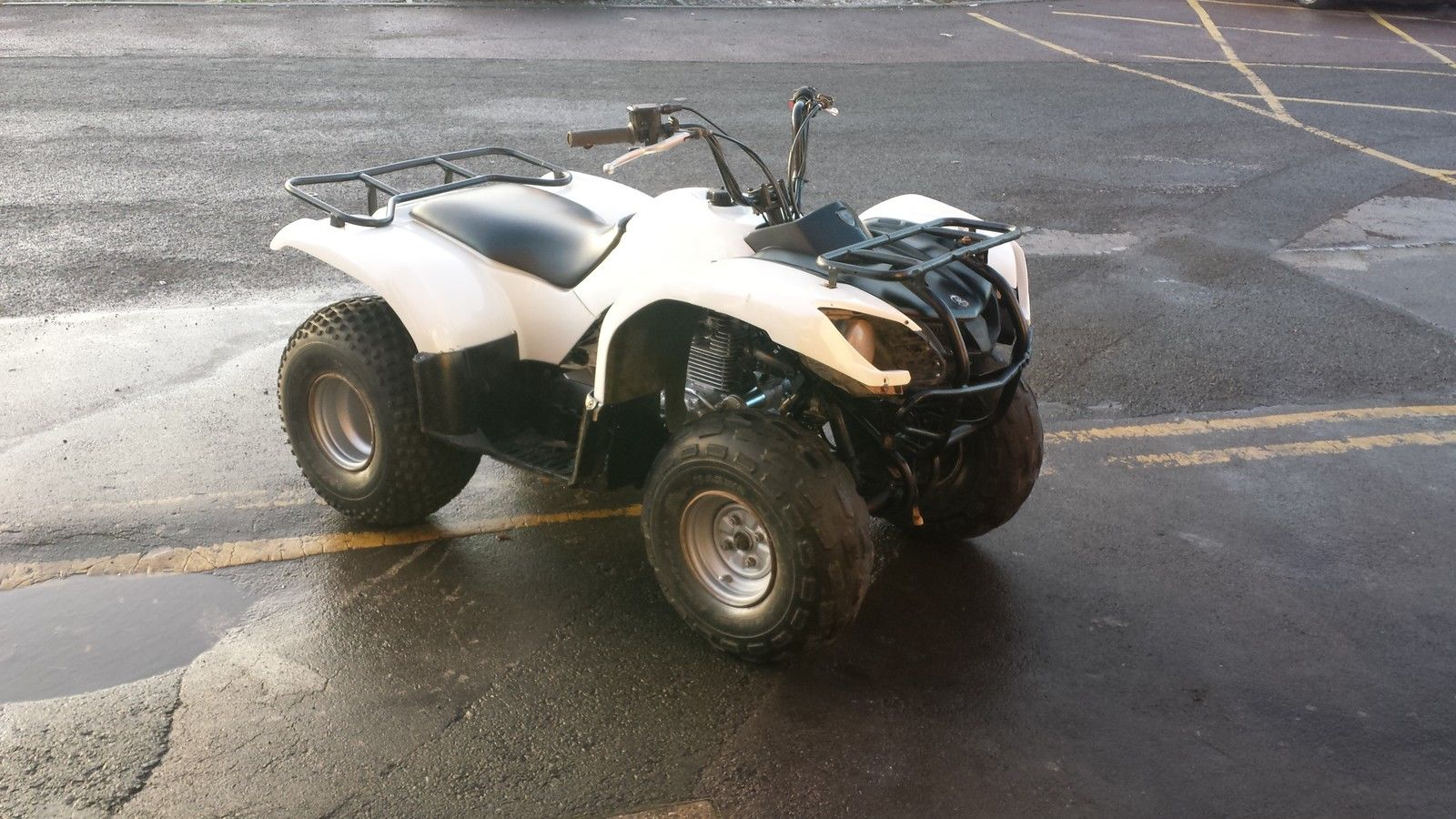 yamaha grizzly 125 farm quad great fun offroad. Black Bedroom Furniture Sets. Home Design Ideas