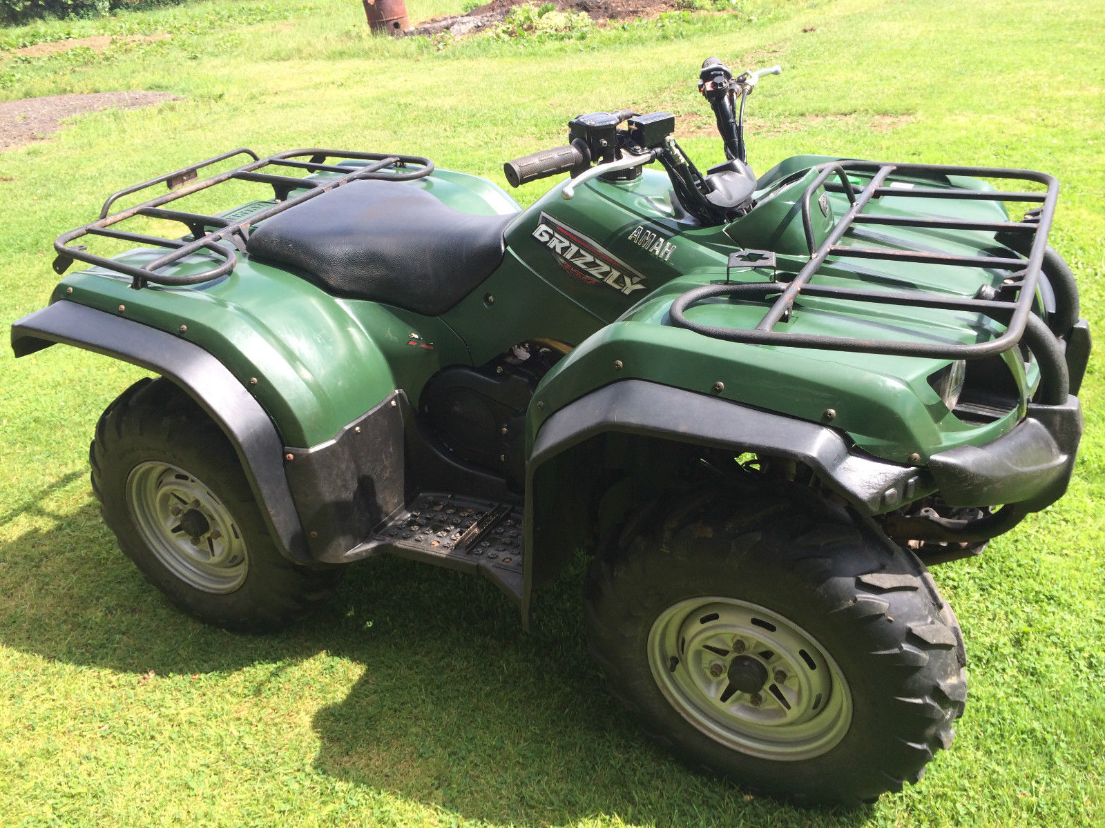 Yamaha grizzly 350 4x4 farm quad atv for Yamaha grizzly atv