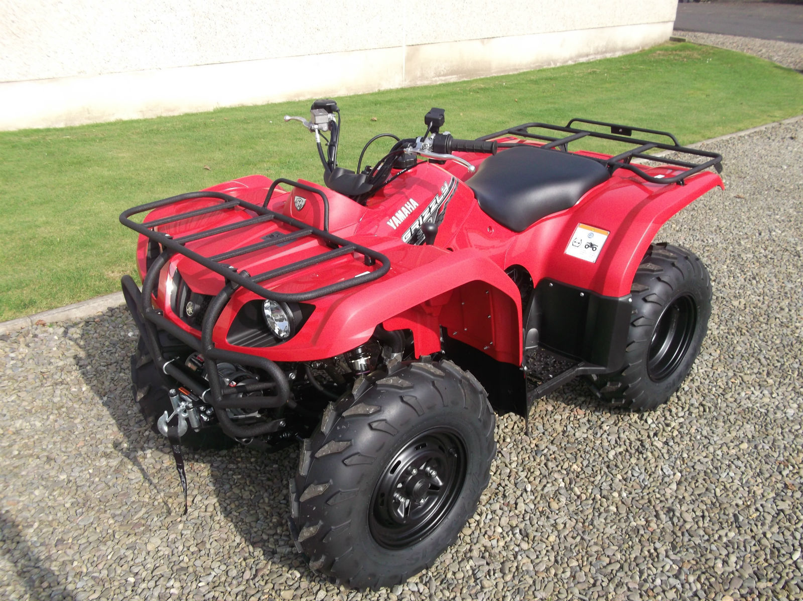 yamaha grizzly 350 eps brand new 2014 a storry 4x4