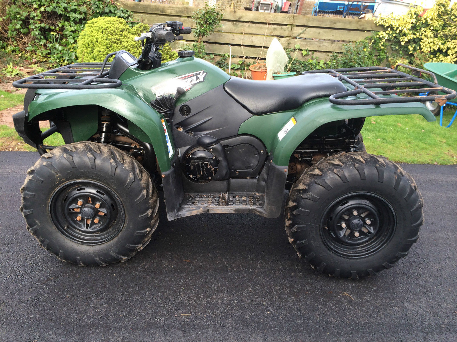 Yamaha grizzly 450 4x4 farm quad atv for Yamaha grizzly atv