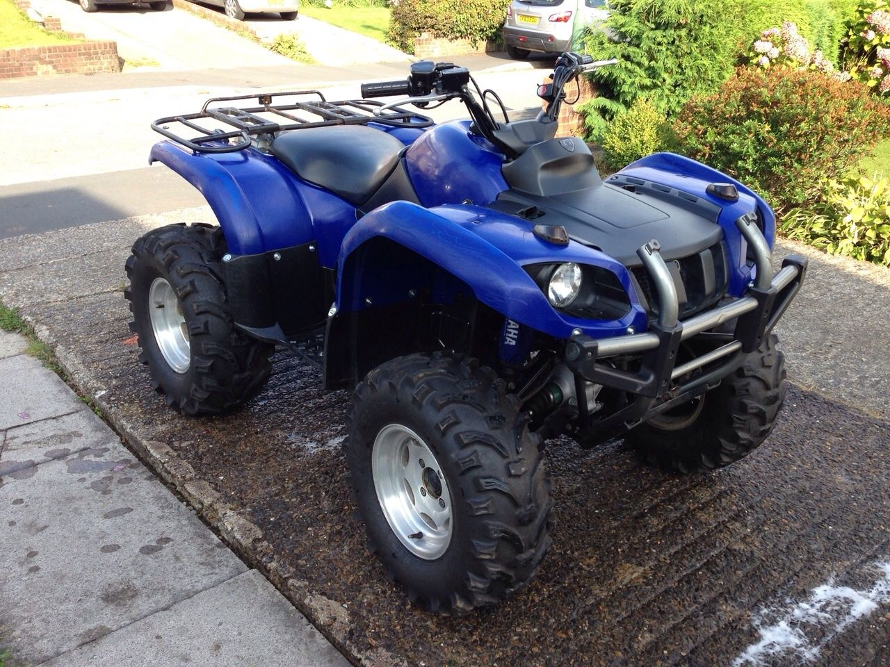 Yamaha grizzly 660 727cc road legal atv 2006 4x4 not for Yamaha raptor oil type