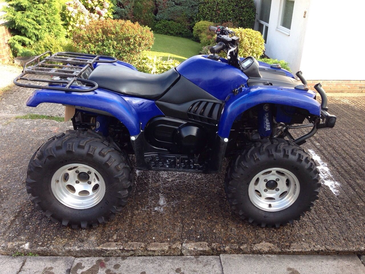 Yamaha grizzly 660 727cc road legal atv 2006 4x4 not for 2006 yamaha grizzly 660 value