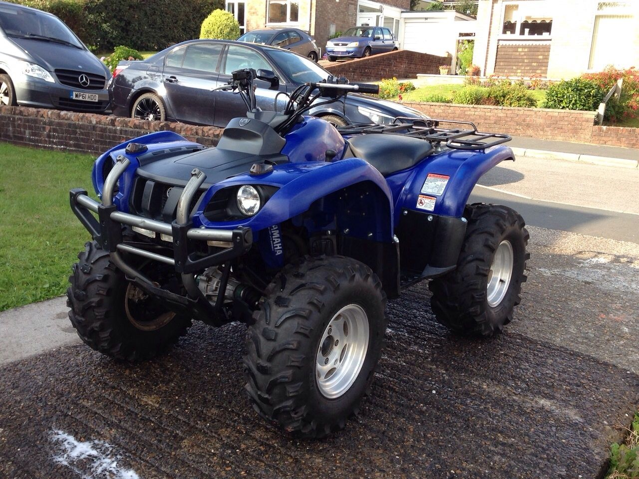 Yamaha grizzly 660 727cc road legal atv 2006 4x4 not for Yamaha grizzly atv