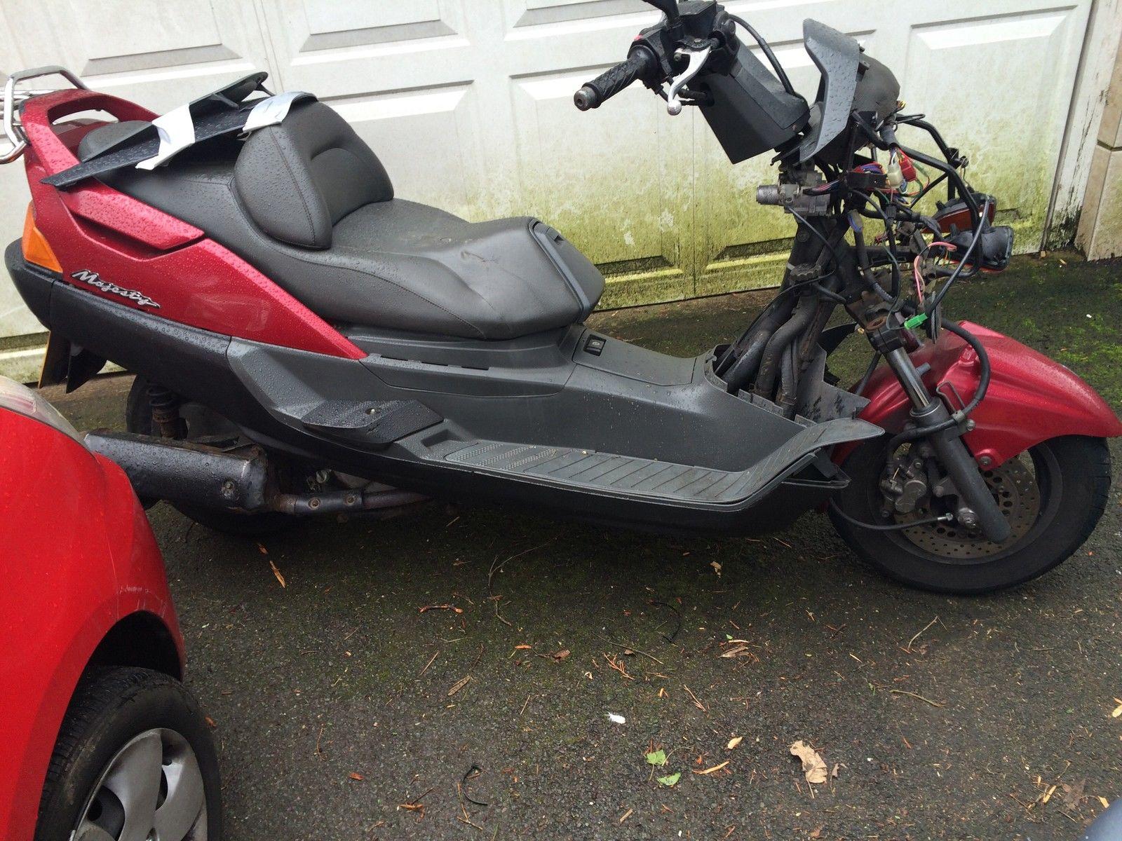 Yamaha scooter 250 cc ebay autos post for Yamaha water scooter