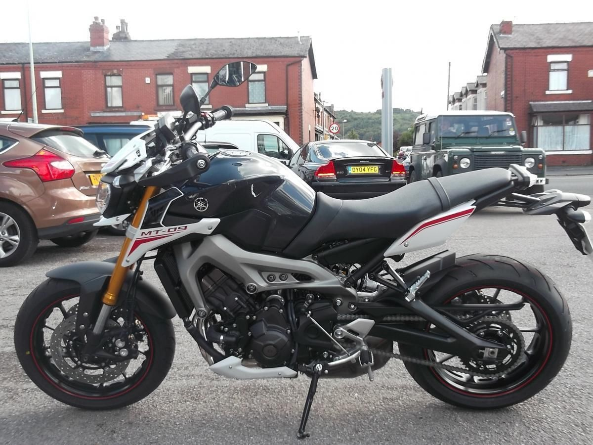 yamaha mt09 street rally limited stock low rate finance. Black Bedroom Furniture Sets. Home Design Ideas