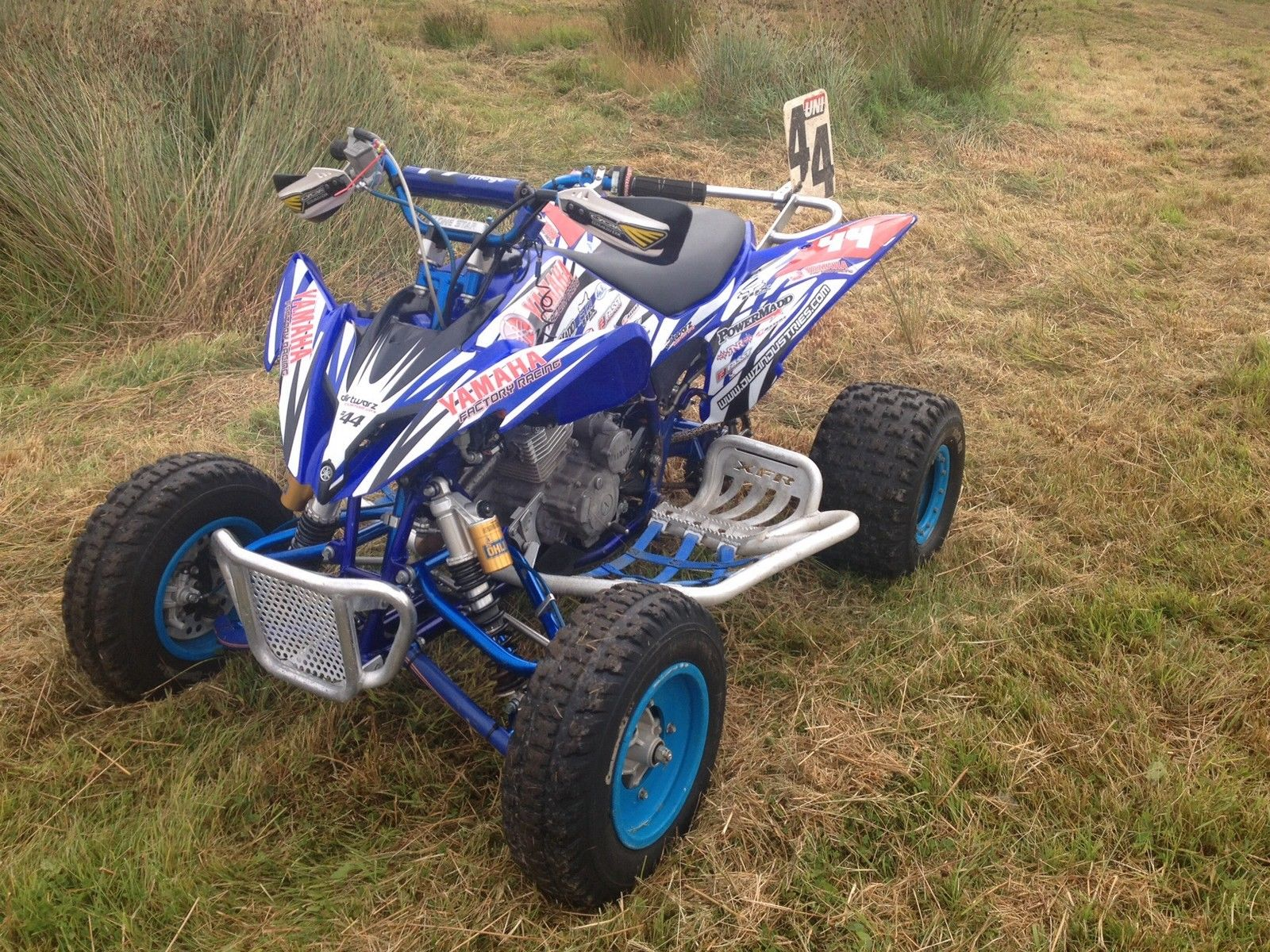 yamaha raptor 250 race prepared quad bike. Black Bedroom Furniture Sets. Home Design Ideas