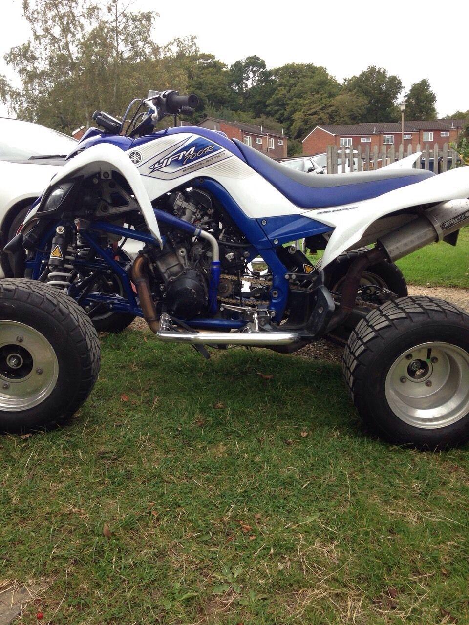Yamaha raptor r1 road legal quad for 2007 yamaha raptor 350 top speed