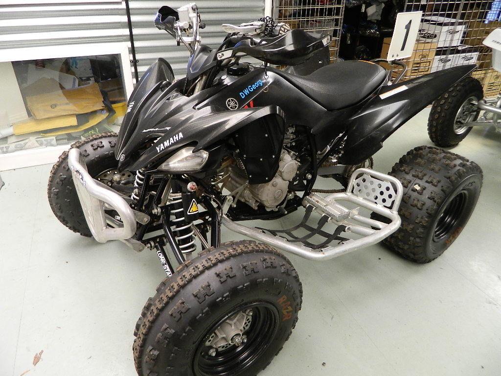 Yamaha raptor yfm250 race quad atv quad for Yamaha raptor dealer