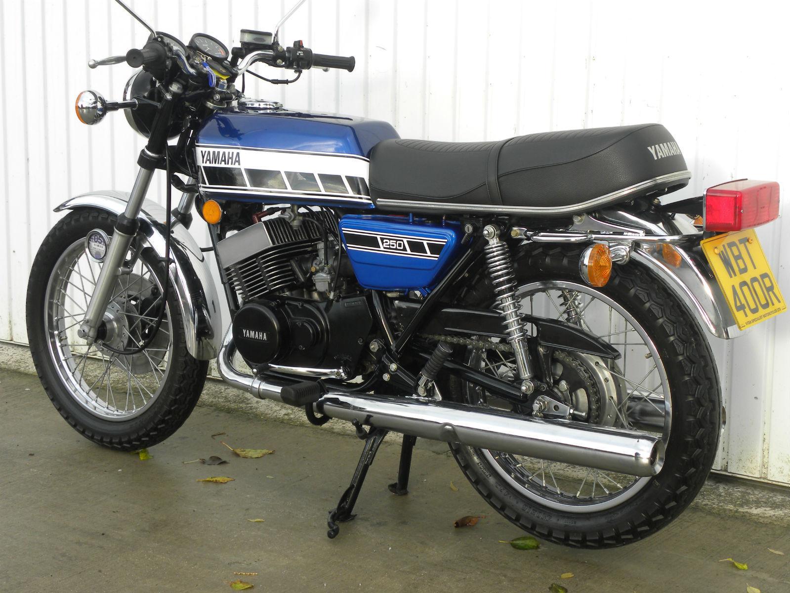 Yamaha rd250c 1976 247cc mot 39 d february 2015 for 1976 yamaha 650 for sale