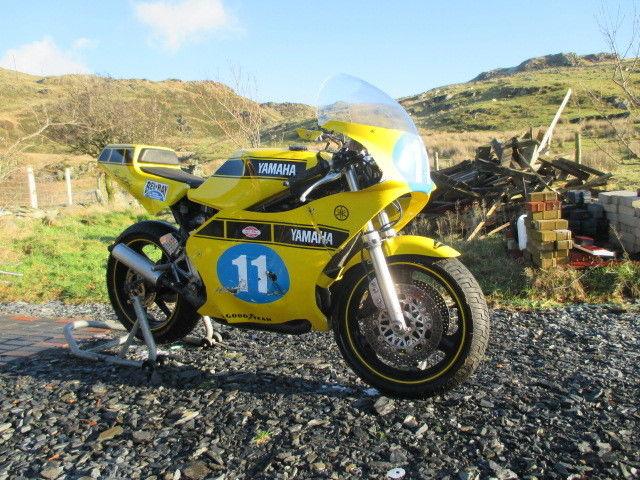 Yamaha RD350 ypvs Post Classic Race bike CRMC,MARD Yamaha