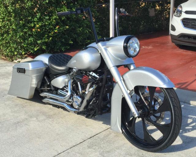 Cheapest Harley Davidson >> Yamaha Road Star Custom Bagger ** NO RESERVE-NO RESERVE