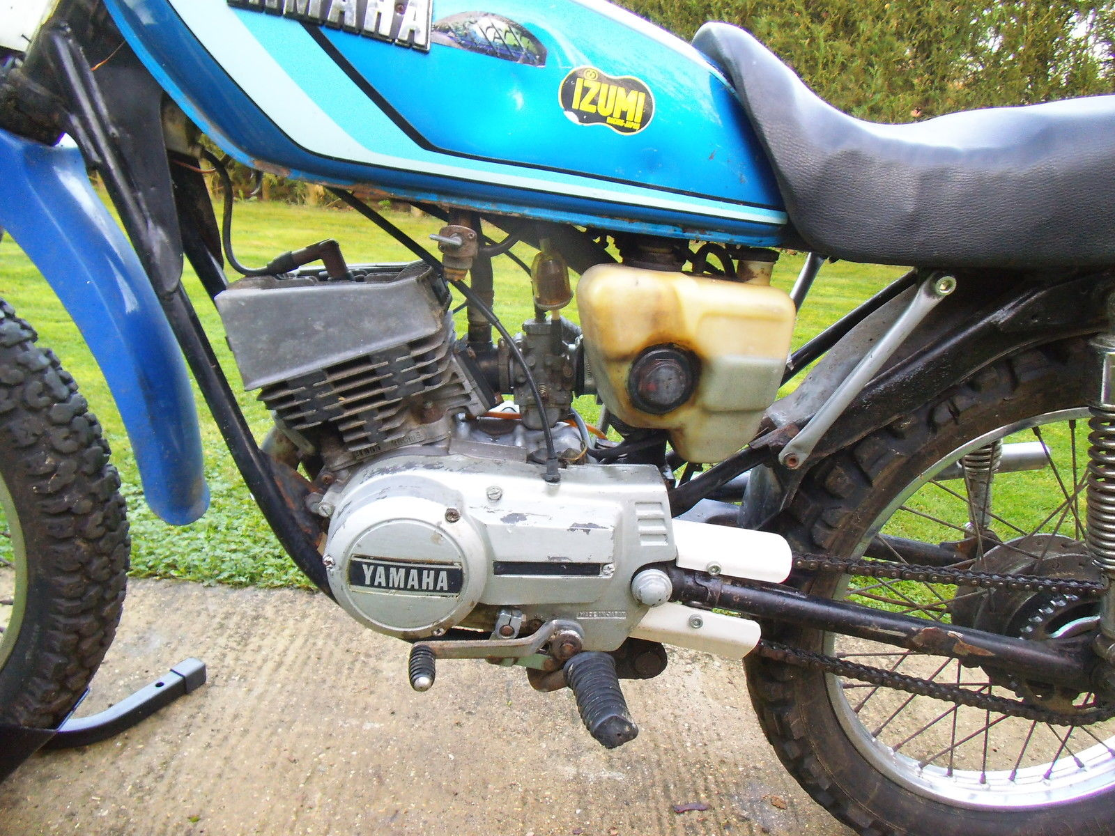 YAMAHA RSX 100CC / YB 100 2 STROKE FILED BIKE OFF ROAD ...
