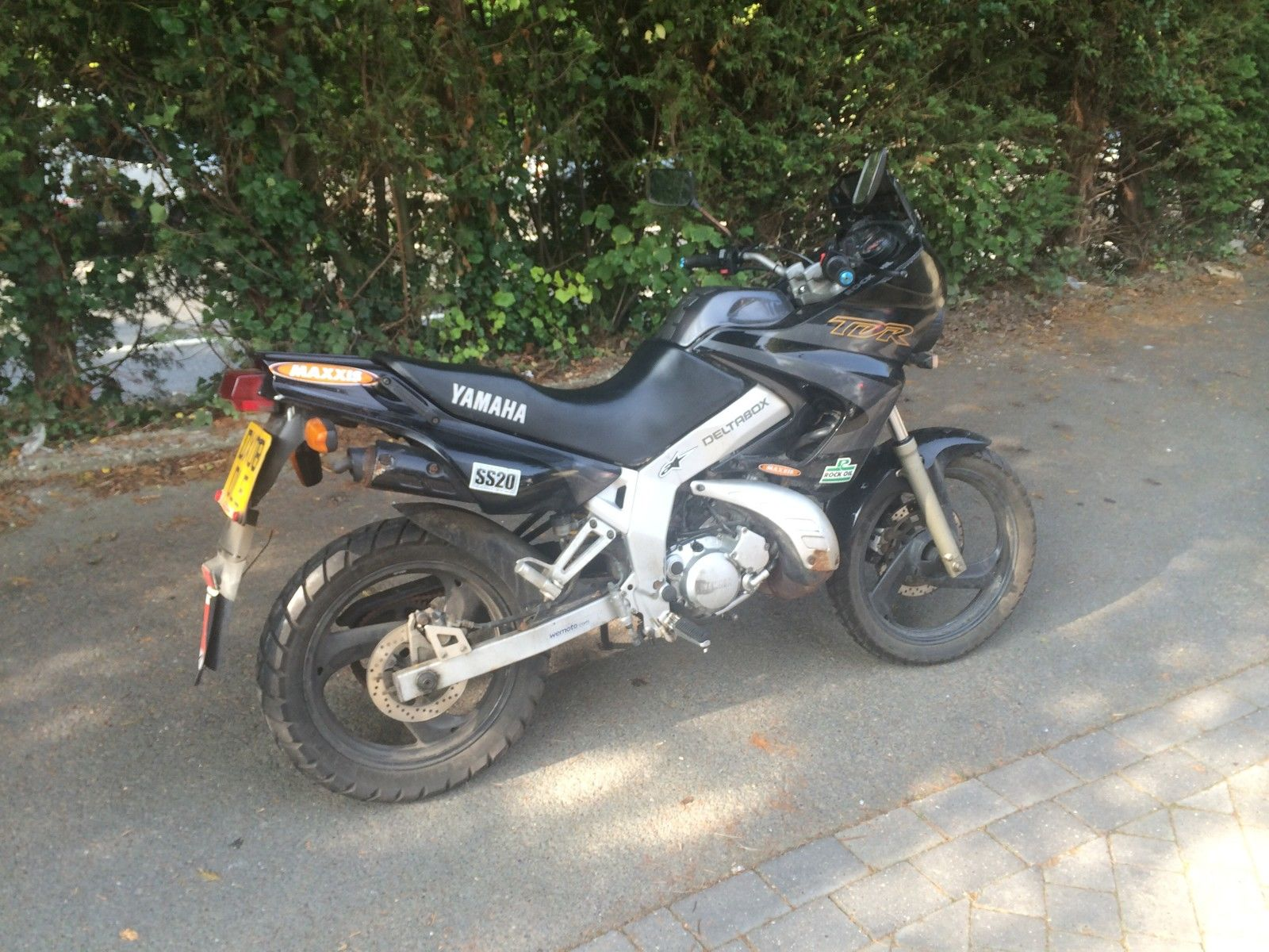 yamaha tdr 125 tdr125 learner legal project spares or repair rare two stroke. Black Bedroom Furniture Sets. Home Design Ideas