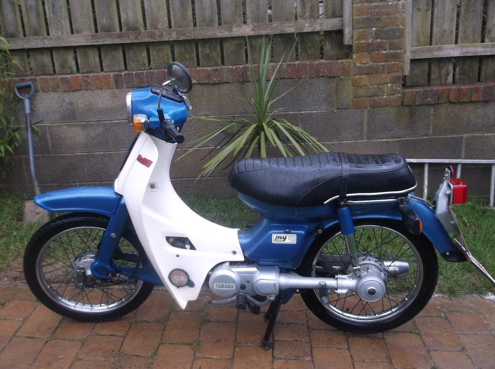 yamaha townmate t50 moped town mate rh suprememotos com Yamaha F50 yamaha t50 and 80 townmate owners workshop manual