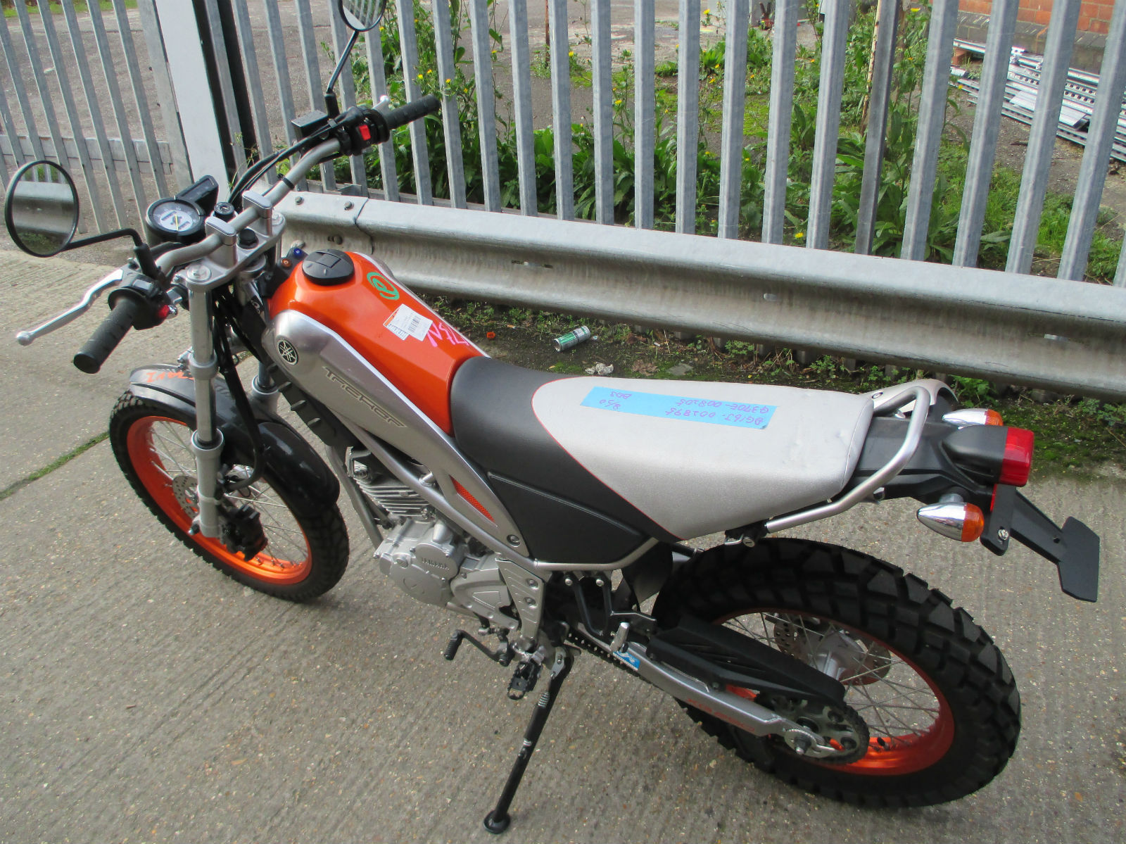 Yamaha Tricker 250 Not Xt Serow