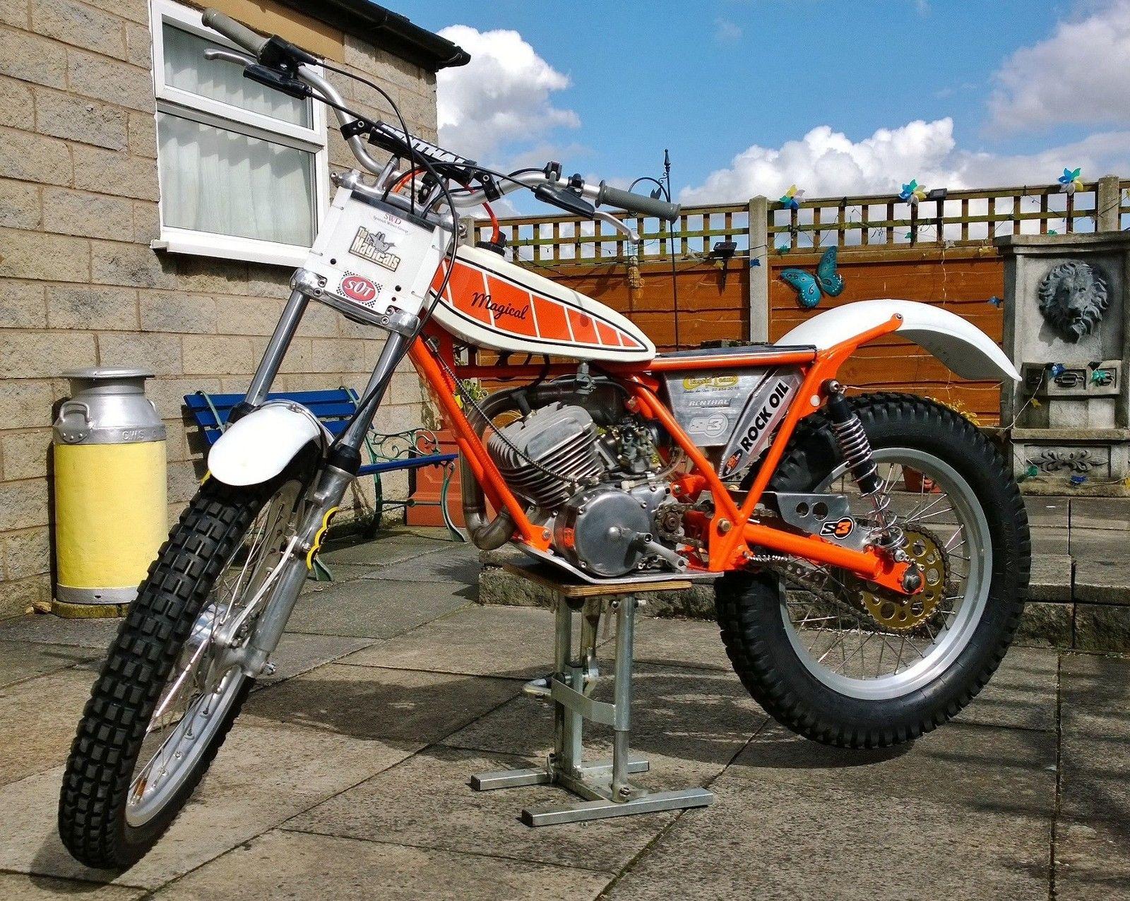Yamaha ty majesty whitehawk 200cc twinshock trials bike for Yamaha trials bike