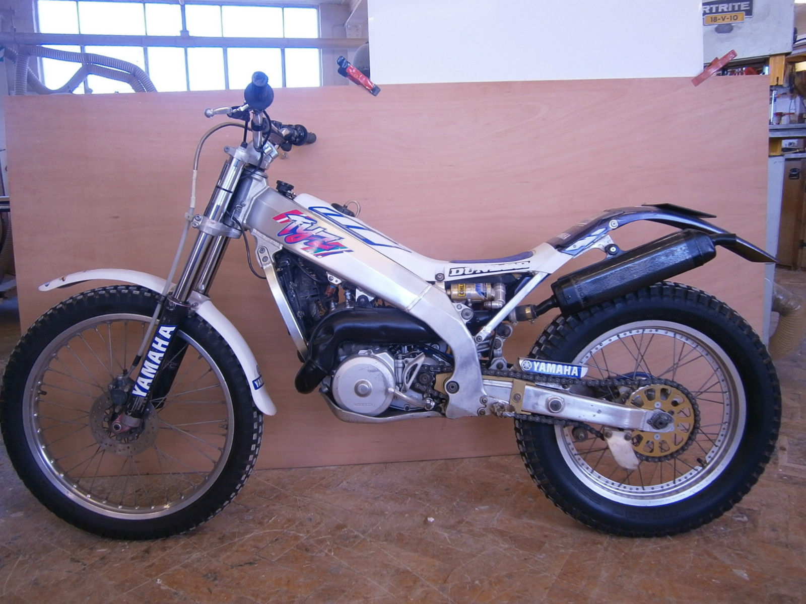 Yamaha tyz trials bike not sherco gas gas montessa beta for Yamaha trials bike