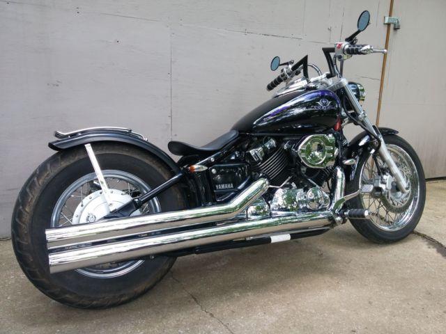 Yamaha V STAR Custom Bobber Chopper Rat Bike
