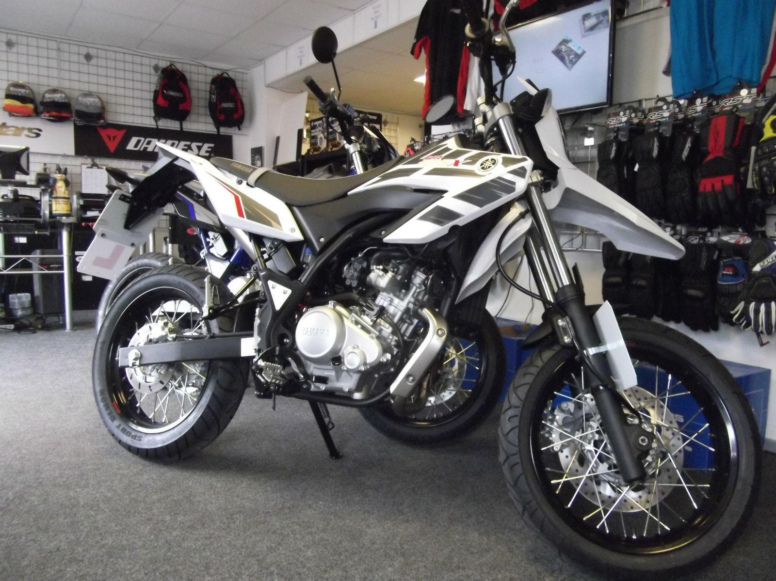 Yamaha wr125x 125cc supermoto motorcycle finance brand for Yamaha motorcycle brands