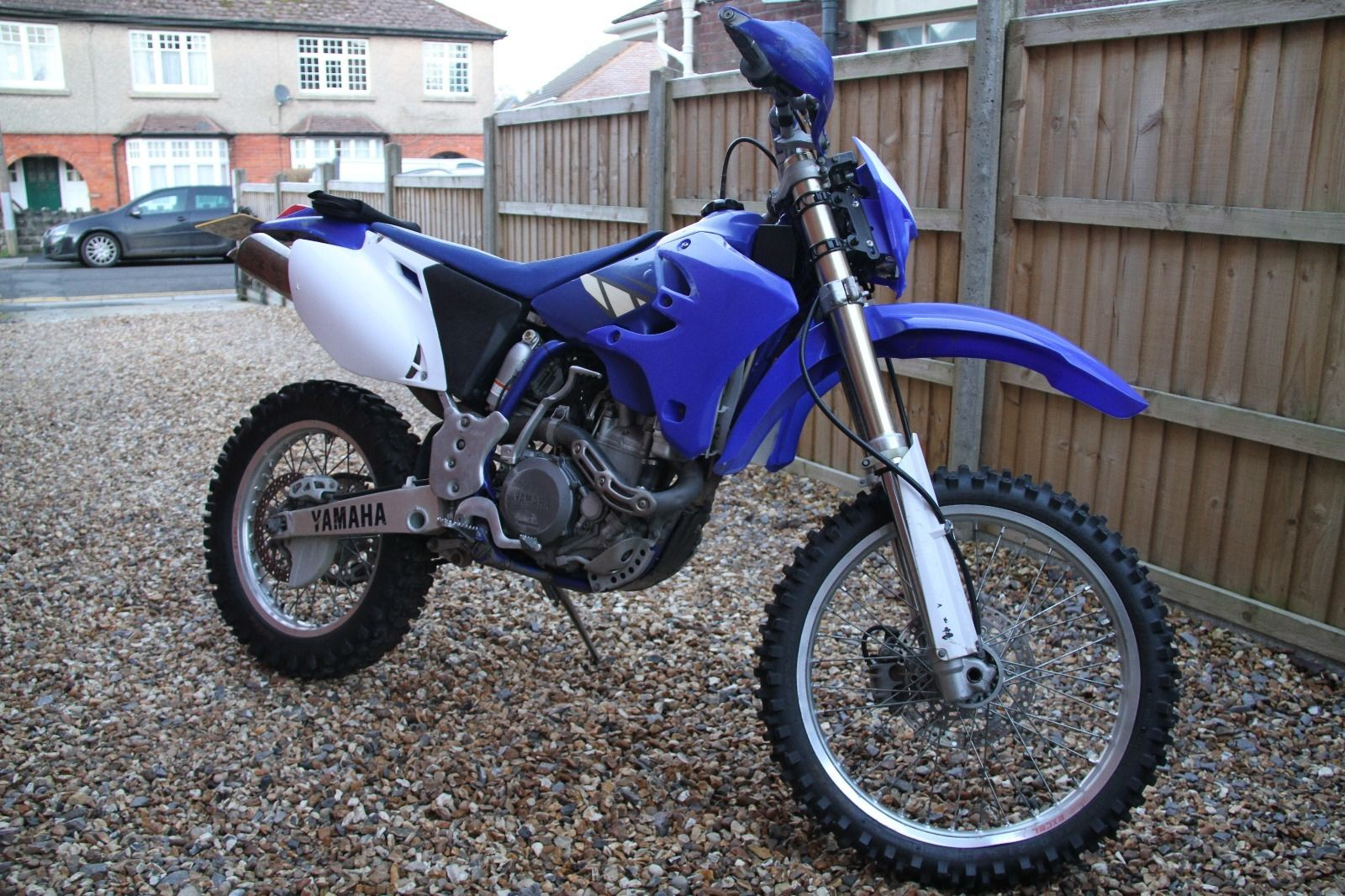 yamaha wr450f 2004 enduro long tax and mot with electric. Black Bedroom Furniture Sets. Home Design Ideas