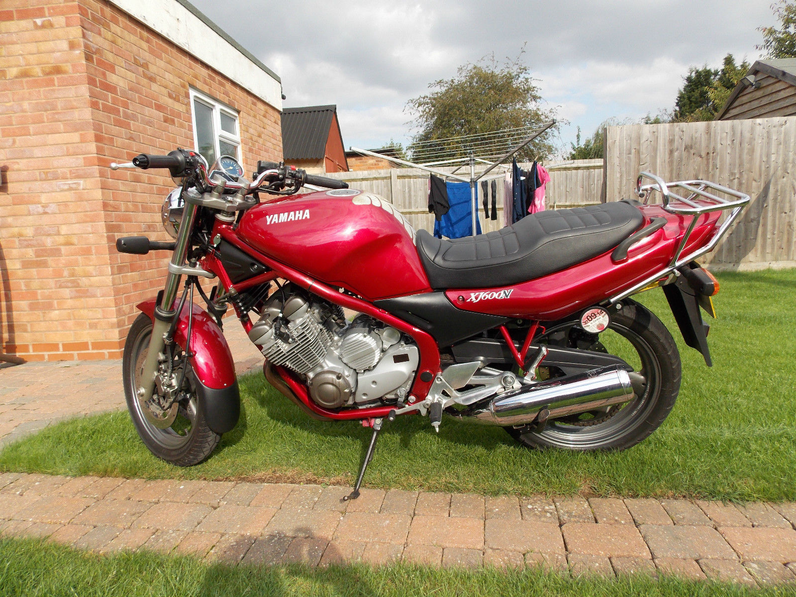 Yamaha xj600n | Yamaha, Motorcycle, Bike