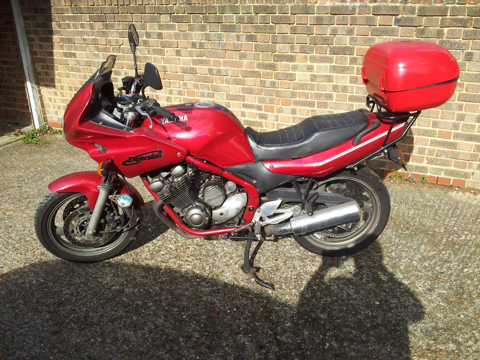 yamaha xj600s diversion 2001 spares or repair n r. Black Bedroom Furniture Sets. Home Design Ideas