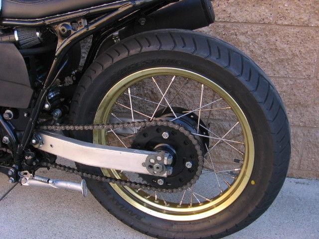 Yamaha XT600 cafe racer. Like SR500. Custom