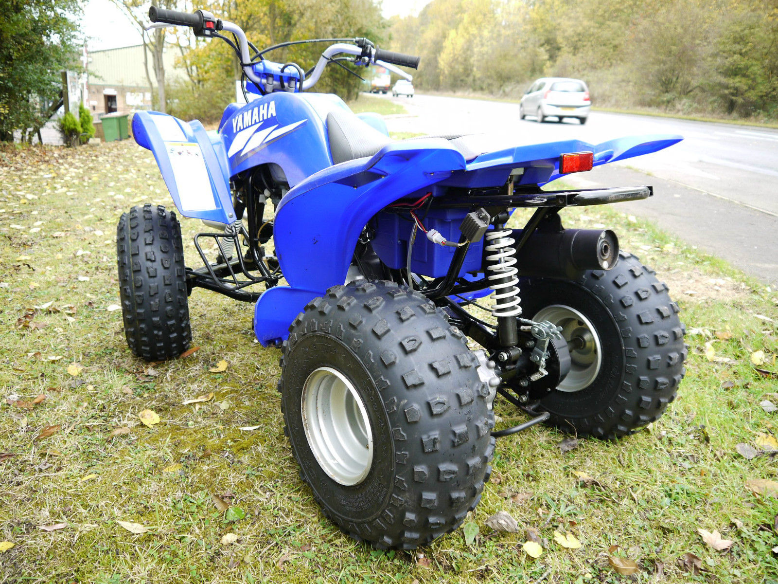 yamaha yfm 80cc kids quad bike 2005 excellent condition. Black Bedroom Furniture Sets. Home Design Ideas